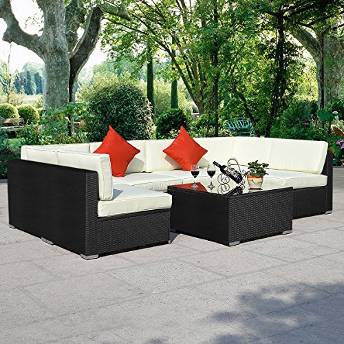 15tlg.Rattan Set Gartenmöbel Lounge Polyrattan Sitzgruppe Rattanmöbel Garnitur Garten - 2