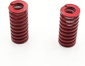 LXM 20mm OD 50mm Long Light Load Compression Mould Die Spring red 4pcs