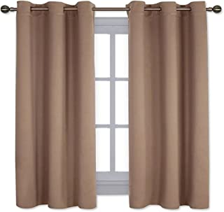NICETOWN Window Treatment Thermal Insulated Solid Grommet Blackout Curtains/Drapes for..