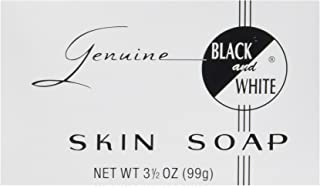 black & white black soap