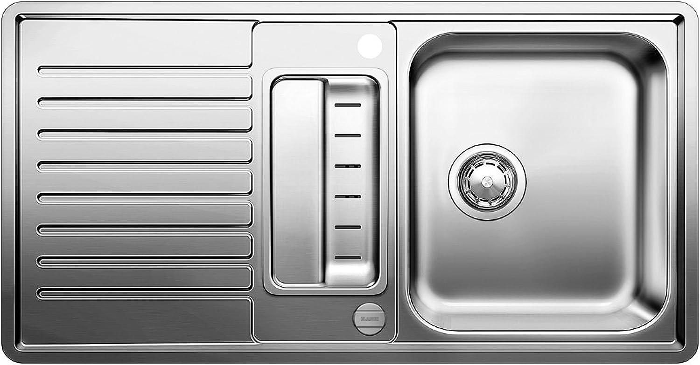 Weiß Classic Pro 5 S-IF Küchenspüle, Edelstahl Seidenglanz, 516849