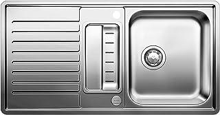 BLANCO Classic Pro 5 S-IF Küchenspüle, Edelstahl Seidenglanz, 516849