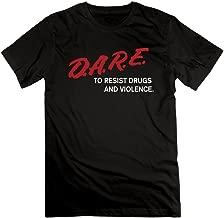 NANCY Men D.A.R.E to Resist Drugs & Violence Tshirt Shortsleeve Tee