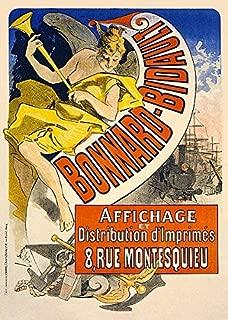 Bonnard Bidault Jules Cheret Vintage Advertisement France Poster (Choose Size, Print or Canvas)