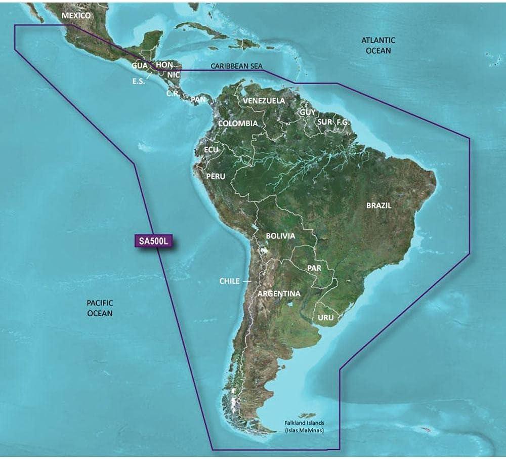 Garmin BlueChart g2 HD - HXSA600X - South America - microSD/SD, 010-C1067-20