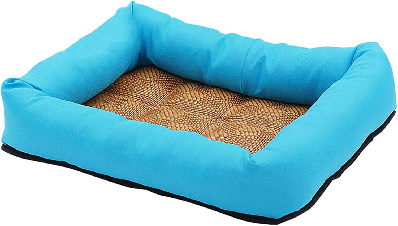 Dog bed Kennels Mats Cat Litter Pet Nests, Summer Dog Supplies Washing Not Deforming, Various Sizes