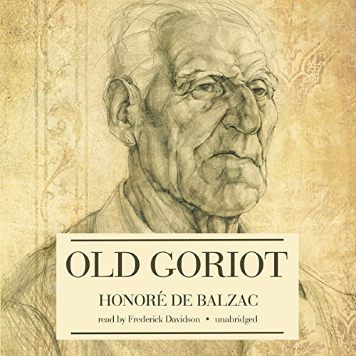 Old Goriot audiobook cover art
