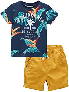6d677bb014 Frogwill Toddler Boys The Little Monster Truck Tee and Shorts Set 18M-7Y