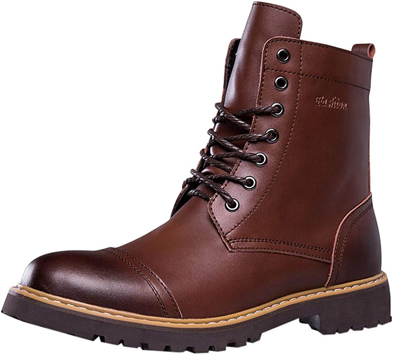 Martin Stiefel PANPANY Herren Winter Outdoor Stiefelies England Stil Vintage Leder Stiefel Herren High-top Desert Tooling Schuhe  | Deutschland Shop