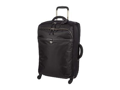 Lipault Paris Spinner 65/24 Packing Case (Jet Black/Light Gold) Bags