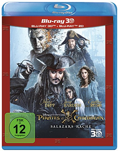 Pirates of the Caribbean 5 - Salazars Rache  (+ Blu-ray 2D)