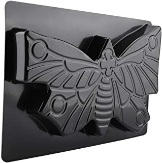 Turtle Butterfly Paving Mould, Stepping Stone Mold Concrete Cement Mould ABS Tortoise Butterfly Path Adds Sense of Fun and Art