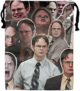 Dwight Schrute Drawstring Bag Party Favors Backpack Gift for Girl