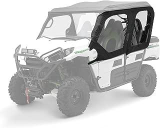 2012-2020 KAWASAKI TERYX4 SOFT CAB DOOR SET (4) BLACK - TX000-16