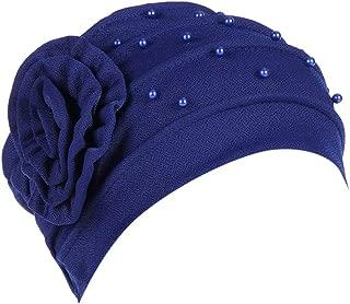 Fabal Women Muslim Stretch Turban Hat Chemo Cap Hair Loss Head Scarf Wrap Hijib Cap