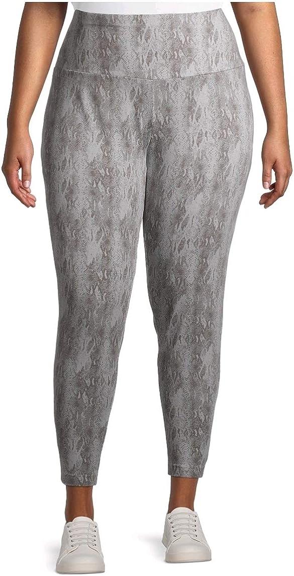 Terra & Sky Snakeskin Soft Ultimate Plus Size Full Length Legging