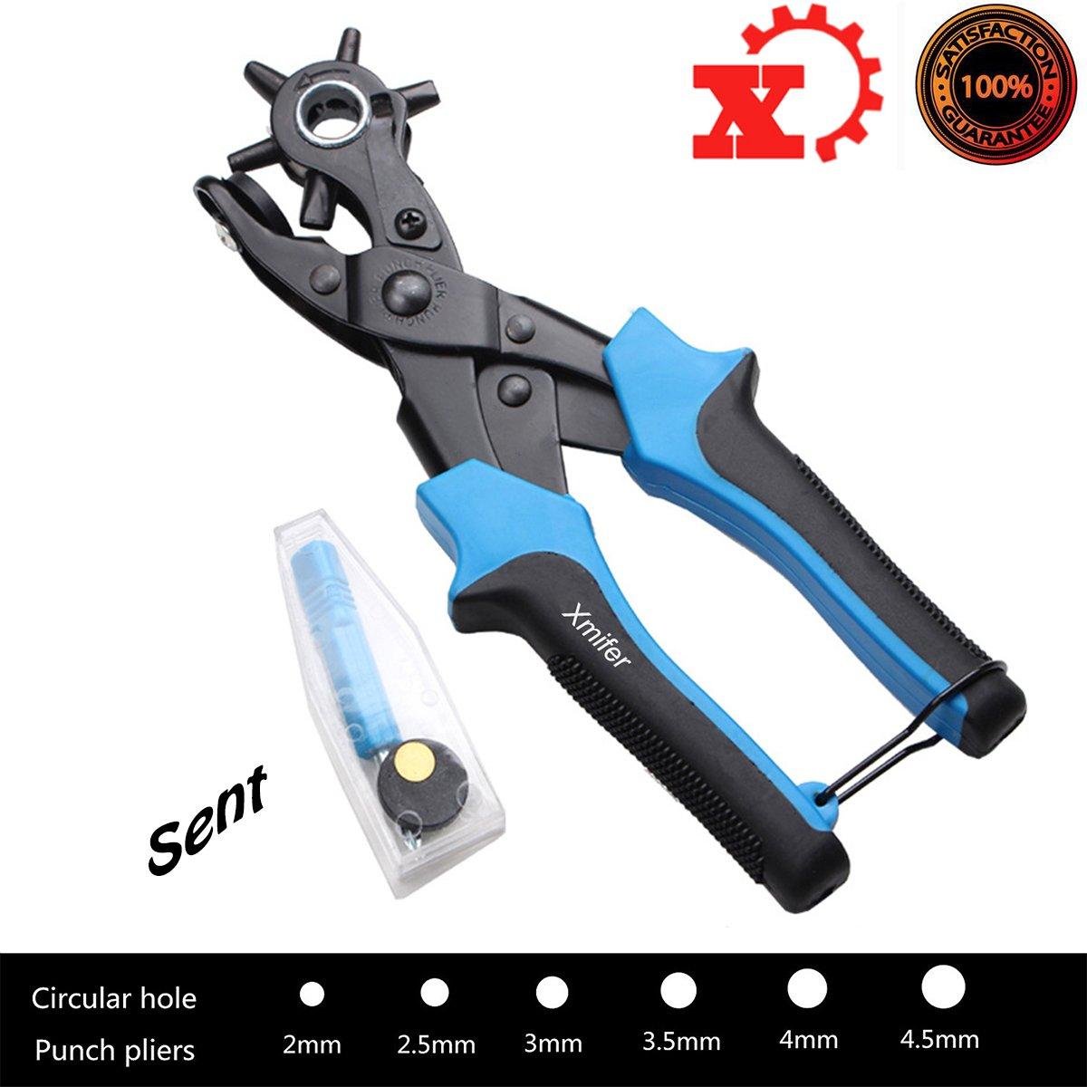 Pliers Rotary Leather Fabric Plastic