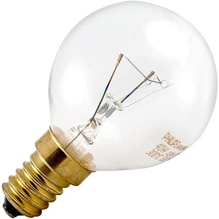 Philips Ampoule Sphérique Ball 40W E14Oven P45X 78Lampe de four 300°C