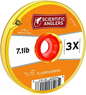 Scientific Anglers Premium Fluorocarbon Tippet with Interlocking Spool with Cutter