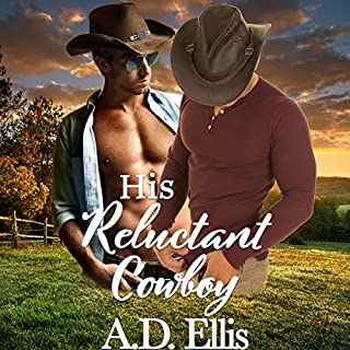 His Reluctant Cowboy audiobook cover art