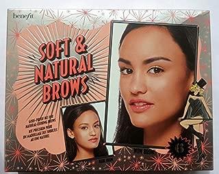 Benefit Cosmetics Soft & Natural Brow Kit Color 06 Deep - dark brown to black (cool)