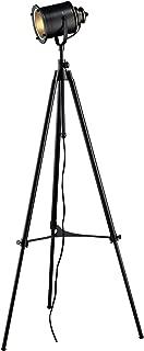 Dimond D1735 Ethan Adjustable Tripod Floor Lamp, Restoration Black