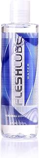 Fleshlube Water 8 Oz | Water-Based Fleshlight Lube