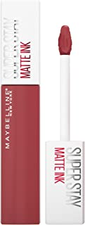 Maybelline New York Superstay Matte Ink Longlasting Liquid Warm Pink Lipstick Up to 12 Hour Wear...
