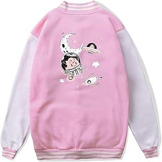 VJJ AIDEAR Cosmic Origins Pokemon Baseball Uniform Jacket Sport Coat Kids Long Sleeve Hoodie Outwear Black