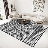 Alfombra Pasillo Alfombra Gris, balcón antiestático cómodo Alfombra rastreante alfombras pie de Cama -Gris_200x230cm
