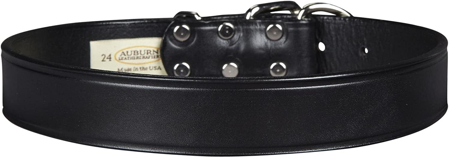 Auburn Tuff Stuff Collar  Black  11 4 x 20 inches
