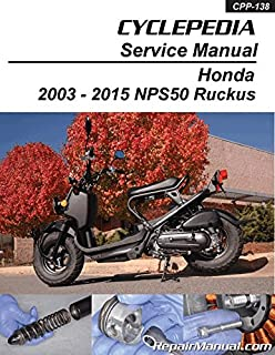 CPP-138 Honda NPS50 Ruckus Cyclepedia Printed Scooter Service Manual