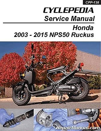 Honda Ruckus Manual Books