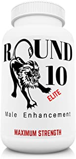 Round 10 ELITE - Male Enhancing Pills - Size, Stamina, Time, Performance - (Warning: Maximum Strength)