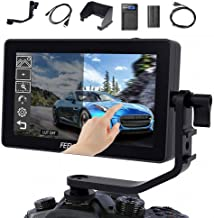 FEELWORLD F6 Plus 5.5 Inch IPS Full HD1920x1080 for DSLR Cameras Field Monitor Suppor 4K HDMI 3D LUT Touch Screen with Tilt Arm Power Output