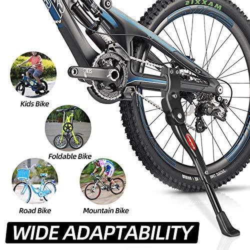 Crislove Fahrradständer für 24-28 Zoll, Höhenverstellbarer Fahrradständer, Fahrradständer Mountainbike, Geeignet für Rennrad Kinderfahrrad - 4