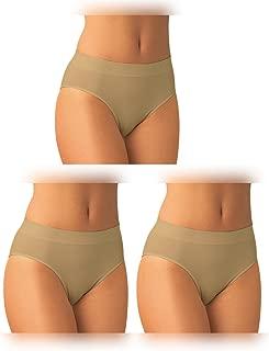 Donna 3 Pack Slip Bikini Invisibile Seamless Ultimate Yenita/®
