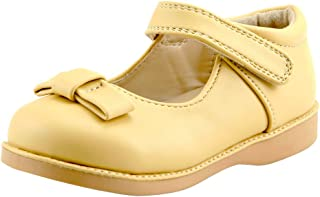 Girl's Mary Jane Flat for Toddler/Little Kid School Dress Shoes