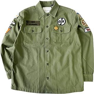 デウスエクスマキナ (Deus ex Machina) MONTY OVER SHIRT DMP95759 ミリタリーシャツ シャツジャケット 長袖 メンズ