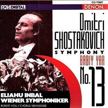 "Shostakovich: Symphony No. 13, ""Babiy Yar"""