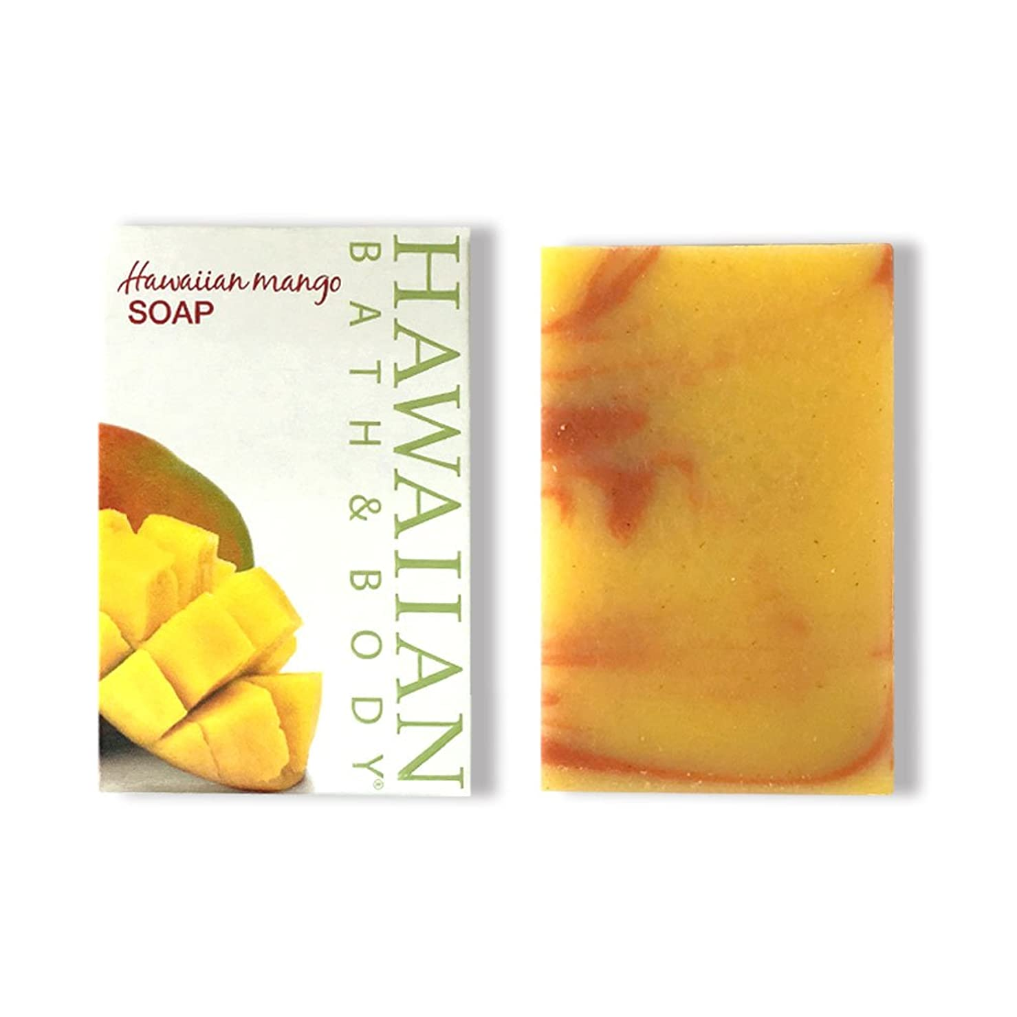 不良救出うれしいハワイアンバス&ボディ ハワイアンマンゴーソープ ( Hawaiian Mango Soap )