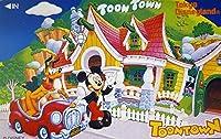 テレホンカード/テレカ ディズニー Tokyo Disneyland / TOON TOWN 3