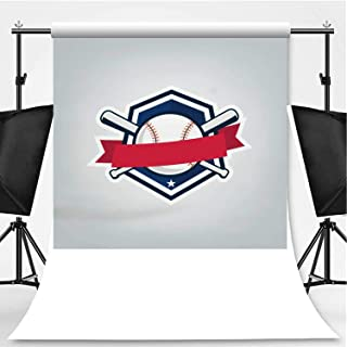 Vector of Baseball Sport Team Design Theme Backdrop Photography Backdrop for Pictures,089263,6.5x10ft