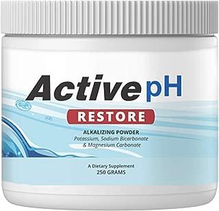 Active pH Restore Alkalizing Powder, pH Balance Supplement 250g (1 Container)