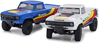 Kyosho 34361T2B Outlaw Rampage 1/10 2WD 2SRA Electric Truck, Blue, Readyset