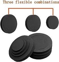 """4PCS 6"""" 6.5"""" 6.75 inch Universal EVA Self Adhesive Sponge High Rebound Waterproof Car Door Speaker Foam Fast Rings Baffle Kit"""
