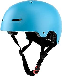 Ouwoer Skateboard Skate Scooter Bike Helmet, CPSC Certified, 3 Sizes for Kids, Youth, Adult
