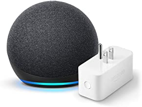 All-new Echo Dot (4th Gen) + Amazon Smart Plug | Charcoal