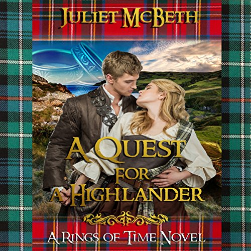 A Quest for a Highlander audiobook cover art