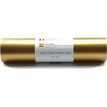 Belle Vous Rollo Vinilo Multicolor (Paquete de 5) - 30cmx3m Vinilo Autoadhesivo - 5 Colores Rollos Vinilo Pegatinas para Pasatiempos, Proyectos de Manualidades, Álbumes de Recortes Decoración: Amazon.es: Hogar